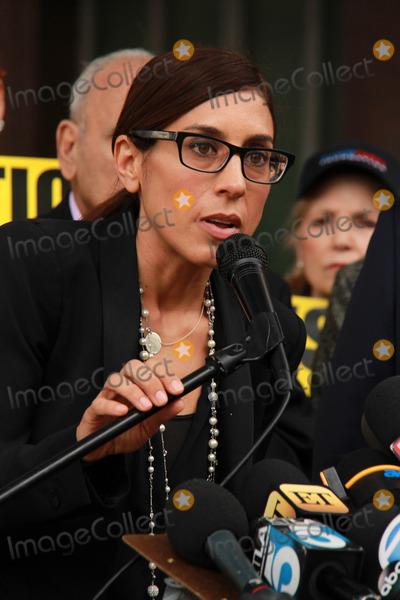 Casey Kasem Photo - Julie Kasemat Casey Kasems Family Press Conference Stanley Mosk Courthouse Los Angeles CA 01-30-15