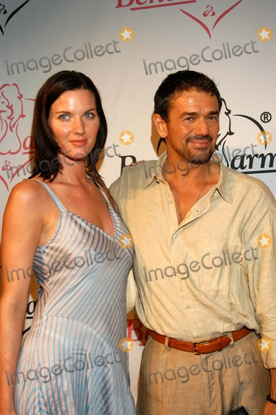 Adrian Zmed Photo - Adrian Zmed and Michelle Boyle at The Launch Party For Bench Warmer Trading Cards White Lotus Hollywood Calif 07-02-03