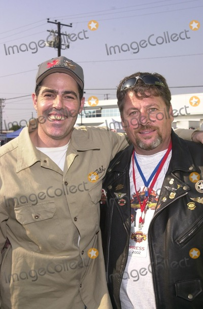 Adam Carolla Photo - Adam Carolla and Hawthorne Mayor Larry Guidi at the American Liver Foundations Seeking Out Solutions For Hepititis C Ride through Hawthorne Long Beach and Redondo Beach CA 10-27-02