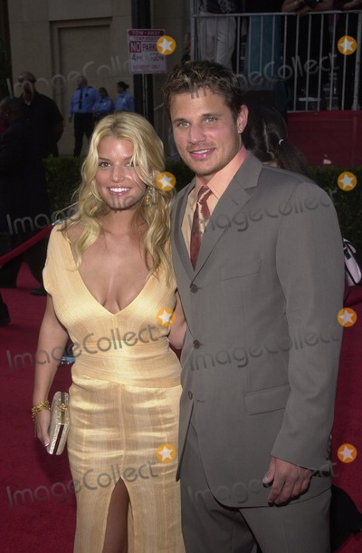 Jessica Simpson Photo - Jessica Simpson and Nick Lachey at the ESPY Awards at the Kodak Theater Hollywood CA 07-10-02