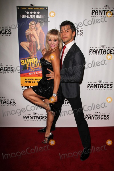 Anya Garnis Photo - Anya Garnis and Pasha Kovalevat the Burn The Floor Opening Night Pantages Hollywood CA 04-26-11