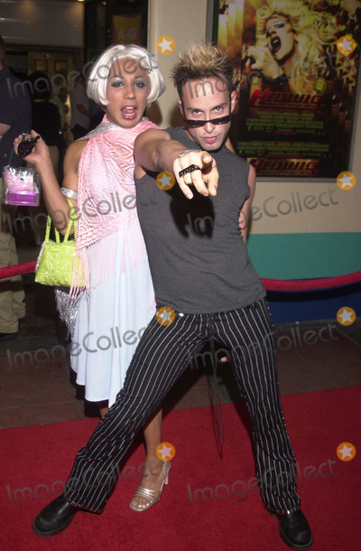 Alexis Arquette Photo - Alexis Arquette and PJ at the opening ceremony for OUTFEST and premiere of Fine Lines Hedwig at the Angry Inch at the Orpheum Theater Los Angeles 07-12-01