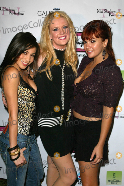 Anna Chudoba Photo - Scarlet Garcia with Erika Rumsey and Anna ChudobaAt the Meghan Fashion Week Wrap Party Cabana Club Hollywood CA 10-21-05