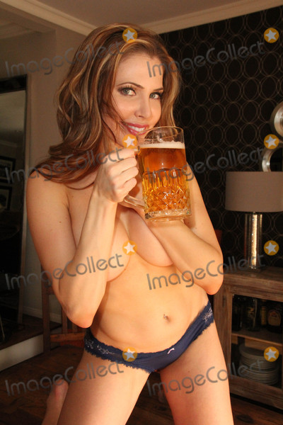 Playboy Models Photo - Erika JordanPlayboy Model and BroMyGod Sex Expert Erika Jordans Nearly Naked Shoot to celebrate the upcoming National Beer Day which is April 7th Private Location Los Angeles CA 04-06-16