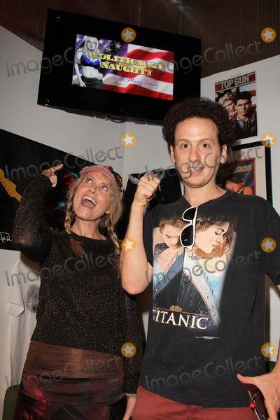 Tess Hunt Photo - Tess Hunt Josh Sussmanat the set of Politically Naughty with Mary Carey TradioV Studios Los Angeles CA 07-29-13