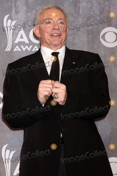 Jerry Jones Photo - Jerry Jonesat the 2014 Academy of Country Music Awards - Press Room MGM Grand Garden Arena Las Vegas NV 04-06-14