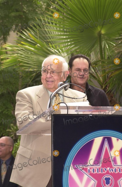 KC and the Sunshine Band Photo - Johnny Grant at KC and The Sunshine Band induction ceremony into Hollywoods Walk of Fame Hollywood Blvd CA 08-02-02