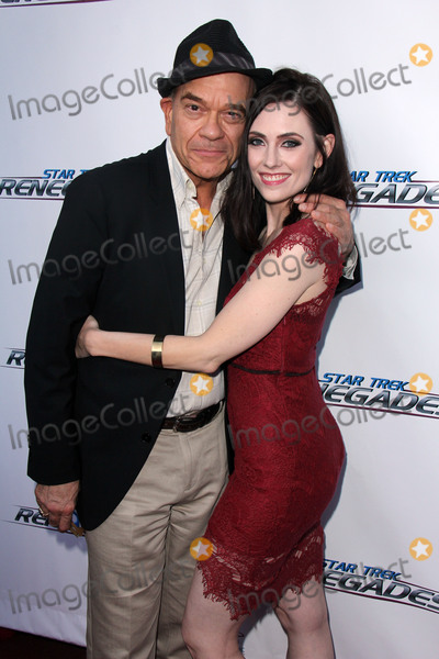 Adrienne Wilkinson Photo - Robert Picardo Adrienne Wilkinsonat the Star Trek Renegades Premiere Crest Theater Westwood CA 08-01-15