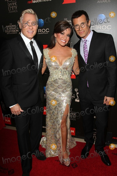 AJ Hammer Photo - Sam Champion Robin Mead and AJ Hammerat the 40th Annual Daytime Emmy Awards Beverly Hilton Hotel Beverly Hills CA 06-16-13