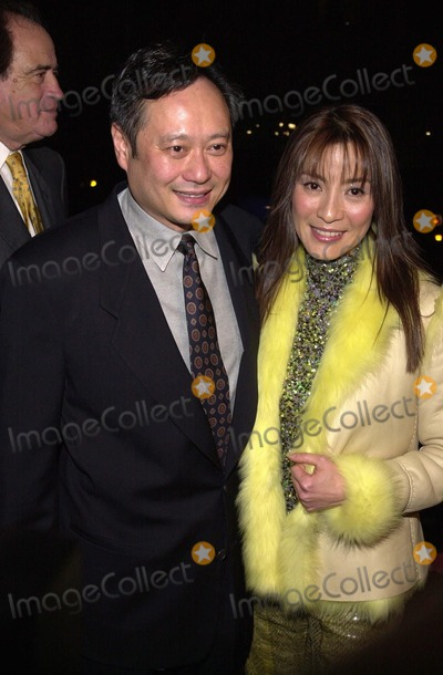 Ang Lee Photo -  Ang Lee and Michelle Yeoh at the premiere of Sony Pictures Classics Crouching Tiger Hidden Dragon in Beverly Hills  12-05-00