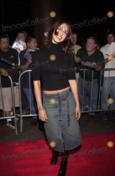 Jessica Alba Photo -  Jessica Alba at the premiere party for Dark Angel in Hollywood 09-25-00