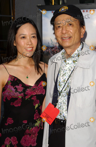 April Hong Photo - April Hong and James Hongat the Los Angeles Premiere of The Myth Arclight Theatres Hollywood CA 06-26-07