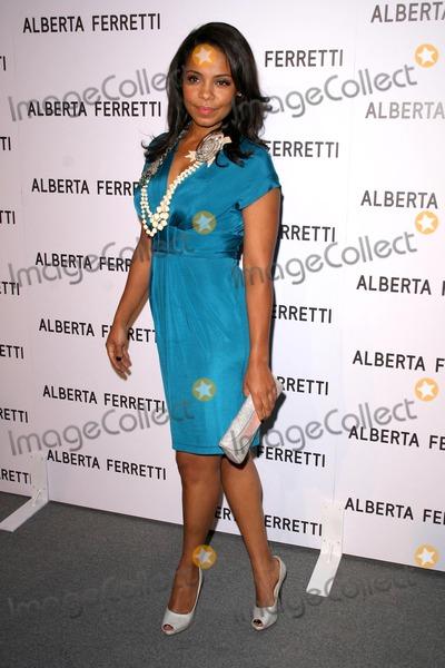 Alberta Ferretti Photo - Sanaa Lathan at the Opening of the Alberta Ferretti Flagship Store on Melrose hosted by Vogue Alberta Ferretti Los Angeles CA 11-12-08