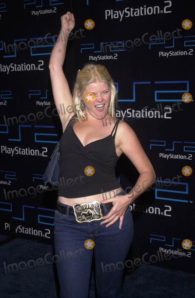 Sarah Ann Morris Photo -  SARAH ANN MORRIS at the Playstation 2 E3 party American Legion Hall Hollywood 05-15-01