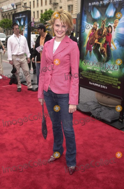 Scooby Doo Photo - Katherine Morris at the premiere of Warner Brothers Scooby Doo at the Chinese Theater Hollywood 06-08-02