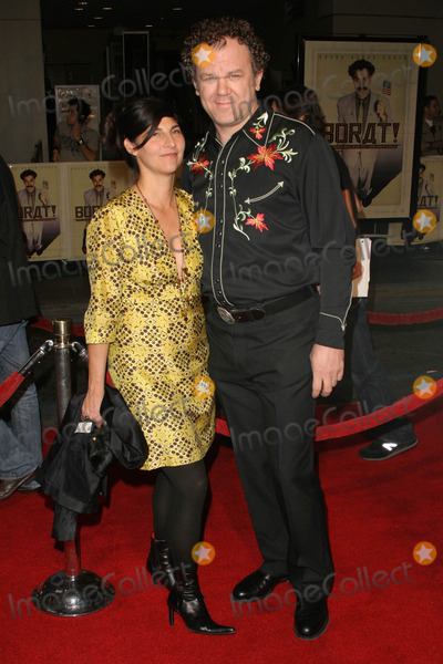 Alison Dickey Photo - Alison Dickey and John C Reillyat the World Premiere of Borat Cultural Learnings of America For Make Benefit Glorious Nation of Kazakhstan Manns Grauman Chinese Theater Hollywood CA 10-23-06