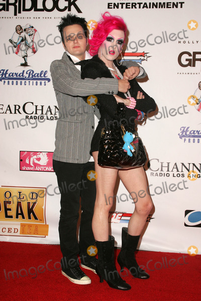 Jeffree Star Photo - Clinrton Catalyst and Jeffree Starat the Gridlock New Years Eve 2007 Party Paramount Studios Los Angeles CA 12-31-06