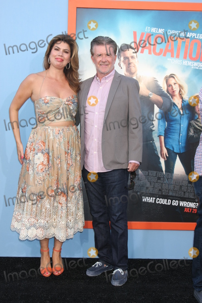 Alan Thicke Photo - Alan Thicke Tanya Callauat the Vacation Premiere Village TheaterWestwood CA 07-27-15