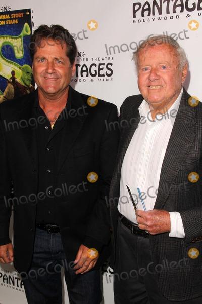 James Van PATTEN Photo - James Van Patten and Dick Van Pattenat Shrek The Musical - Los Angeles Opening Night Pantages Theatre Hollywood CA 07-13-11