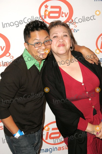 Alec Mapa Photo - Alec Mapa and Amy Hillat the LA launch event for ImaginAsian TV AFI Rooftop Village Hollywood CA 11-06-05