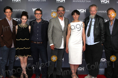 Ashley Zukerman Photo - LOS ANGELES - JUL 9  Ashley Zukerman Rachel Brosnahan Sam Shaw Thomas Schlamme Olivia Williams Daniel Stern John Benjamin Hickey at the WGN Series Manhattan Photo Op July 2014 TCA at the Beverly Hilton Hotel on July 9 2014 in Beverly Hills CA