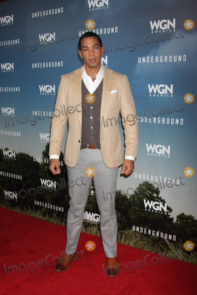 Alano Miller Photo - Alano Millerat the Underground WGN Winter 2016 TCA Photo Call The Langham Huntington Hotelm Pasadena CA 01-08-16