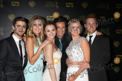 Kelli Goss Photo - Max Erlich Melissa Ordway Hunter King Matthew Atkinson Kelli Goss Lachlan Buchanan at the 2015 Daytime Emmy Awards Press Room at the Warner Brothers Studio Lot on April 26 2015 in Los Angeles CA Copyright David Edwards  DailyCelebcom 818-249-4998