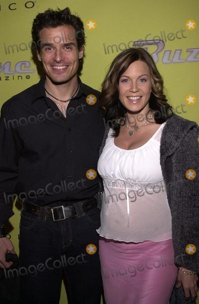 Antonio Sabato Jr Photo - Antonio Sabato Jr and wife at the launch party for BUZZINE Magazine Deep Nightclub Hollywood 04-04-02