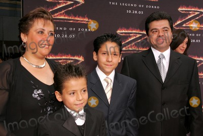 Adrian Alonso Photo - Adrian Alonso and familyat the premiere of The Legend of Zorro Orpheum Theater Los Angeles CA 10-16-05