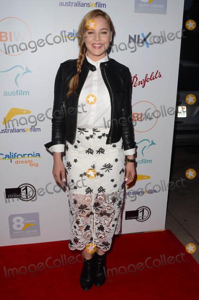 Heath Ledger Photo - Abbie Cornishat the 2016 Australians In Film Heath Ledger Scholarship Dinner Mr C Beverly Hills CA 06-01-16