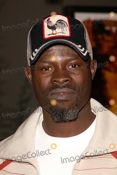 Tupac Photo - Djimon Hounsou at the premiere of Paramount Pictures Tupac Resurrection at the ArcLight Theaters Hollywood CA 11-04-03