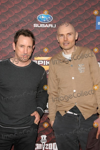 Jimmy Chamberlin Photo - Jimmy Chamberlin and Billy Corganat Spike Tvs Scream 2008 Greek Theatre Hollywood CA 10-18-08
