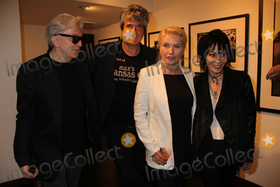 Clem Burke Photo - Chris Stein Clem Burke Deborah Harry Joan Jettat the Hell In The City Of Angels Chris Stein Photo Exhibition Opening Morrison Hotel Gallery West Hollywood CA 08-09-13