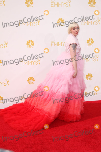 Lena Dunham Photo - Lena Dunhamat the 66th Annual Emmy Awards Arrivals Nokia Theater Los Angeles CA 08-25-14