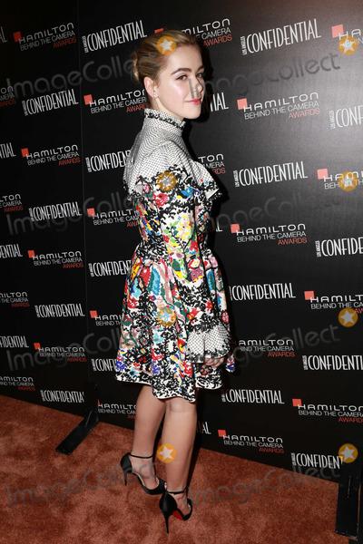 Kiernan Shipka Photo - Kiernan Shipkaat the Hamilton Behind The Camera Awards Wilshire Ebell Theater Los Angeles CA 11-09-14