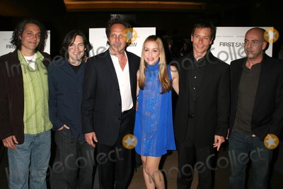 Bob Yari Photo - Hawk Ostby Mark Fergus William Fichtner Piper Perabo Guy Pearce and Bob Yariat the Los Angeles premiere of First Snow The Writers Guild Theatre Beverly Hills CA 03-22-07