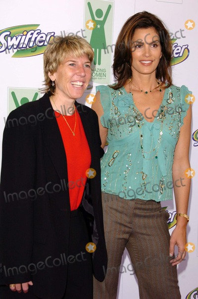 Andrea Jaeger Photo - Andrea Jaeger and Cindy Crawfordat a press conference to announce the winners of Swiffers Amazing Women Of The Year program Regent Beverly Wilshire Beverly Hills CA 05-10-06