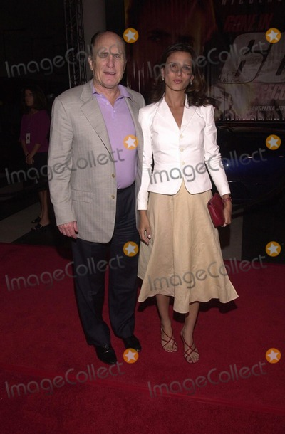 Tatianna Photo -  Robert Duvall and Tatianna at the post premiere party for Touchstones GONE IN 60 SECONDS at the Peterson Automotive Museum Los Angeles 06-05-00