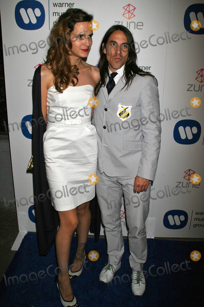 Anthony Kiedis Photo - Anthony Kiedis and friendat the Warner Music Group 2007 Grammy After Party The Cathedral  Los Angeles CA 02-11-07