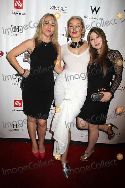Alice Aoki Photo - Christy Oldham Valeria Goncharova Barrett Von Leczycki Alice Aoki at Day to Night LA Fashion Week Opening Show W Hollywood Hollywood VA 10-09-14