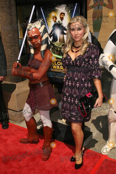 Ashley Eckstein Photo - Ashley Eckstein at the US Premiere of Star Wars The Clone Wars Egyptian Theatre Hollywood CA 08-10-08