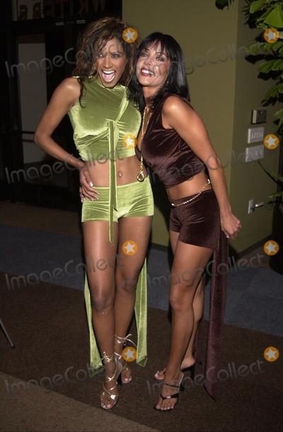 Apollonia Photo -  Traci Bingham and Apollonia at the LA Short Film Festival Sunset Room Hollywood 10-05-00