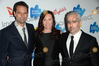 Angie Fielder Photo - Emile Sherman Angie Fielder Iain Canningat the Screen Australia and Australians in Film Oscar Nominees Reception Four Seasons Hotel Beverly Hills CA 02-24-17