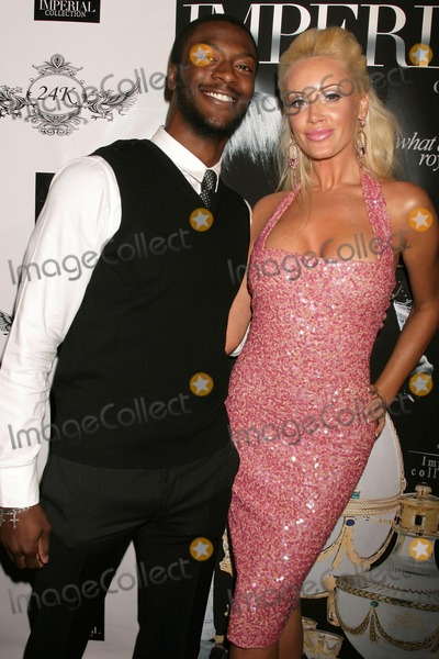 Aldis Hodge Photo - Aldis Hodge and Kaki West  at the FG Magazine Release Party 24k Lounge West Hollywood CA 12-19-08