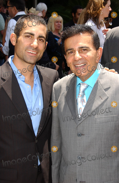 Casey Kasem Photo - Mike Kasem and Casey Kasemat the Ceremony honoring Mike Curb with a star on the Hollywood Walk of Fame Vine St Hollywood CA 06-29-07