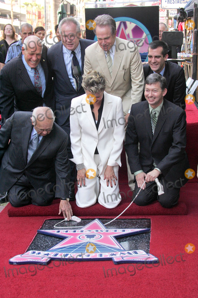 Angel City Photo - Annette Bening with Warren Beatty Johnny Grant and the Los Angeles City Councilat the ceremony honoring Annette Bening with the 2324th Star on the Hollywood Walk of Fame Hollywood Boulevard Hollywood CA 11-10-06