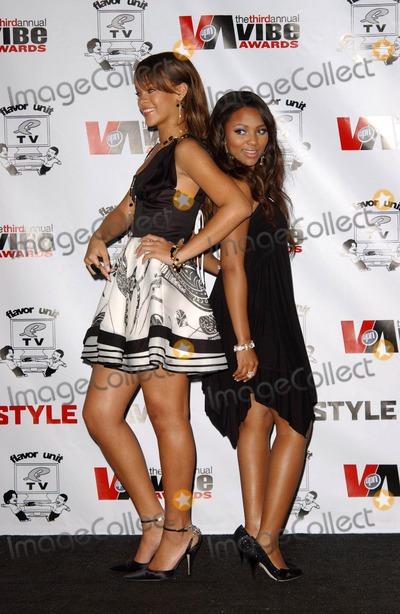 Teairra Marie Photo - Rihanna and Teairra Mariin the press room at the 3rd Annual Vibe Awards Sony Studios Culver City CA 11-12-05