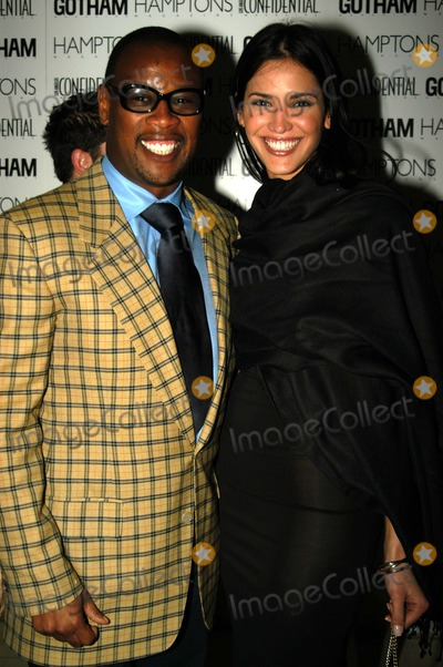 Andre Harrell Photo - Andre Harrell and guest Pre-Oscar Bash To Celebrate LA Confidentials OscarSpring Fashion Issue Skybar at the Mondrian West Hollywood CA 03-18-03