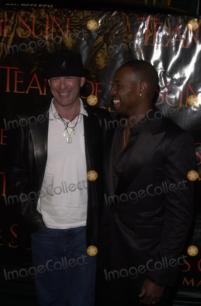 Antoine Fuqua Photo - Bruce Willis and Antoine Fuqua at the Columbia TriStar premiere of Tears Of The Sun Mann Village Theatre Westwood CA 03-03-03