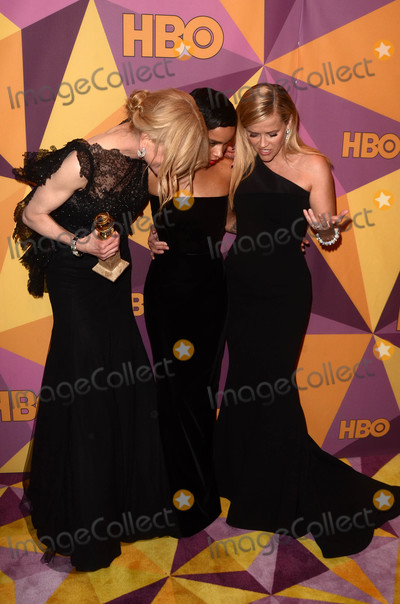 Nicole Kidman Photo - Nicole Kidman Zoe Kravitz Reese Witherspoonat the HBO Golden Globes After Party Beverly Hilton Beverly Hills CA 01-07-18